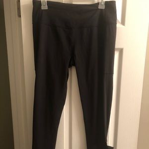 VS Black Leggings with Mesh and cutouts size Large